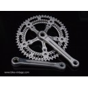vintage crankset stronglight 104 lenght 170mm very rare