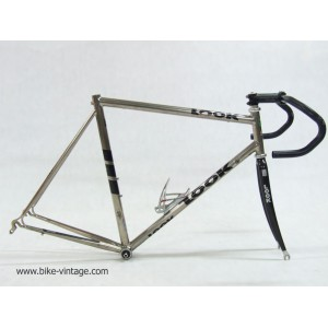 for sell Vintage Frame and fork Look titanium size 56, campagnolo, specialized, modolo, smica