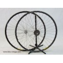 Dura Ace 7400 wheels set with quick release dura ace cassette 7 speed mavic campagnolo omega rims