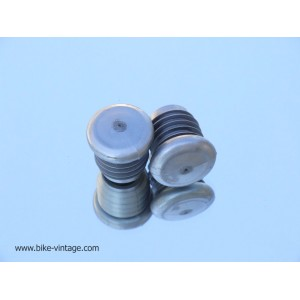 Pair of vintage handlebar end plugs