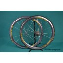Vintage wheels Mavic Cosmic 16 spokes Dura Ace cassette 8 speed