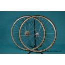 Vintage Wheelset Shimano Dura ace EX 7200 6 speed mavic clement tubular